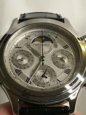 Shellman Grand Complication Moon Phase Minute Repeater Quartz Men's watch .