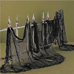 100 Halloween Creepy Cloth Window Table Door Net Spooky Fancy Dress Party Decor