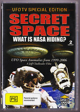 LIKE NEW Secret Space: What is NASA Hiding UFOTV Special Edition DVD 2007 2 Disc