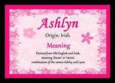 Ashlyn Nom Personnalisé sens Tapis de souris