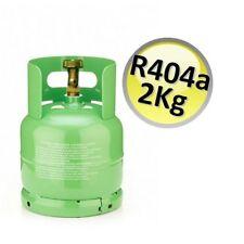 3S BOMBOLA R404A R-404 PIENA KG 2 NETTI GAS REFRIGERANTE REFRIGERAZIONE FRIGO