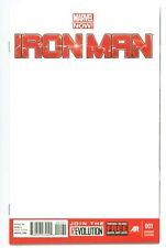 IRON MAN Vol.5 #1(1/13)BLANK VARIANT(S.H.I.E.L.D./A.I.M.)GILLEN/LAND(CGC IT)9.8!