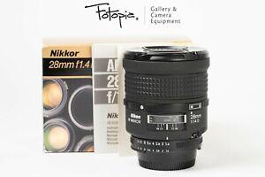Nikon AF Nikkor 28mm F1.4 D, full packing (97-98% new, Made in Japan)