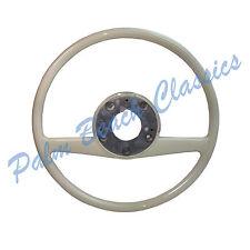 New Original OEM Mercedes Ivory Steering Wheel W113 Late 250SL and 280SL