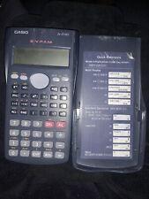 Calculadora Científica Casio Fx-83MS GCSE Ciencias Matemáticas Educación Escolar