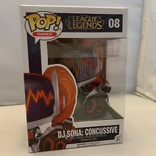 Funko POP! League of Legends DJ Sona: Concussive w/pop protector