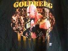 Vintage 1998 Bill GOLDBERG Mens 3XL Wrestling WWE WCW pro wrestler T-Shirt XXXL