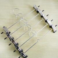 Strong Metal Clip Hangers Chrome Clothes Coat Trouser Skirt 30cm Stainless-Steel