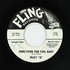 R&B Soul 45 - Mary B - Something For You, Baby - Fling - VG+ mp3
