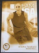2016 Topps Olympics Gold 5X7 Jumbo Card Diana Taurasi Uconn Mercury #/10 Rare