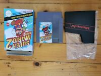 NES SUPER MARIO BROS 2 NINTENDO ENTERTAINMENT SYSTEM BOXED GAME AUS SELLER PAL