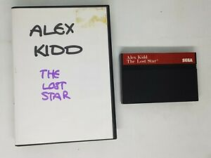 Alex Kidd The Lost Star Sega Master System Game UK PAL NO SLEEVE NO MANUAL