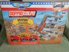 MICRO MACHINES MILITARI DOPPIO COLPO 2 GIOCHI IN 1  TOY  VINTAGE ANNI 90 GIG