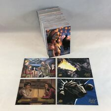 FIREFLY TV SERIES: THE 'VERSE All Art Complete 171 Card Set Upper Deck SERENITY