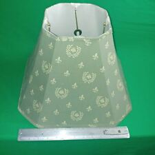 Lamp Shade Size 15 x 11 Olive Green Cloth -Bell Shape Style From Movie props