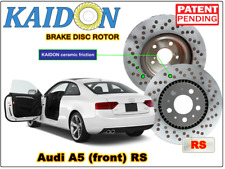"""AUDI A5 disc rotor KAIDON (front) type """"RS"""" spec"""