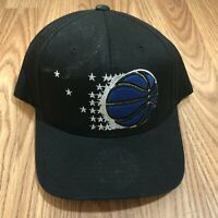 Orlando Magic Snapback Hat Cap Black NBA Basketball Mitchell & Ness Retro