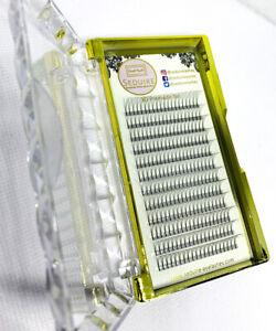 Pre Made Russian Volume False EyeLashes Long Fan 3D 4D 5D Mink Semi Permanent
