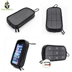 Magnetic Motorcycle Tank Bag Mobile Phone GPS Navigation Holder Bags Waterproof
