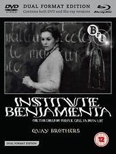 Quay Brothers Institute Benjamenta (DVD + Blu -Ray) (Blu-ray)