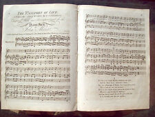 1800 SPARTITO MUSICALE 'THE PASSPORT OF LIFE' PER PIANOFORTE. DI JOHN MONRO