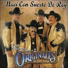 NEW Naci Con Suerte De Rey (Audio CD)