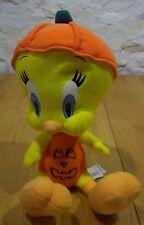 Wb Looney Tunes Tweety Bird In Pumpkin Stuffed Animal