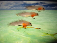 3 V Fly Size 8 Ultimate Rio Grande Diamond Tan Zonker Sea Trout Flies
