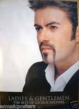 "George Michael ""Ladies & Gentlemen - The Best Of"" U.K. Promo Poster - Wham!"