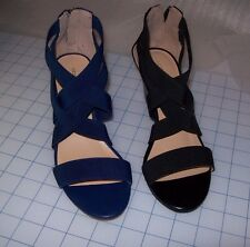 WOMEN'S Liz Claiborne ROCKELE STRETCH WEDGE SANDALS MULTIPLE COLORS NEW IN BOX