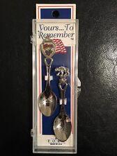 Vintage Collectors Spoons Knots Berry Farm