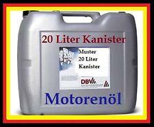 1L=2,80 EUR 20 Liter HD SAE 20 Motoröl Einbereichsöl Motor Oel