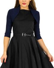 Manteaux et vestes bleu coton pour femme, taille 42