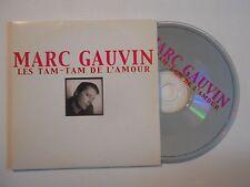 MARC GAUVIN : LES TAM TAM DE L'AMOUR [ CD SINGLE PORT GRATUIT ]