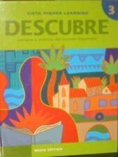Descubre, Nivel 3, Lengua Y Cultura Del Mundo Hisp
