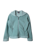 Patagonia synchilla arctic blue fleece jacket women's size Small hooded full zip