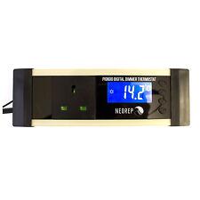 Digital Reptile Vivarium LCD PID Dimmer Thermostat Heat Mats Ceramic Heater Lamp
