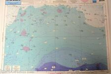 "Nearshore Bathymetric Chart NY, NJ, Block Island Shelf, 19"" x 26"", #BKL207"