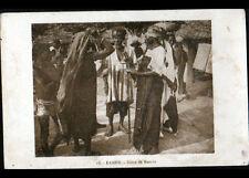 KANDY (DAHOMEY / BENIN) Marché animé