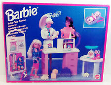1995 MATTEL BARBIE SO MUCH TO DO BABY CARE CENTER BRAND NEW SEALED CONTENTS