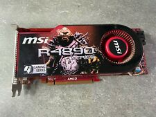 MSI ATI Radeon HD 4890 1GB GDDR5, 256 Bit, PCI-Express x16 Graphics Card