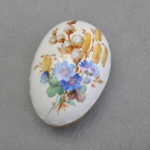 Meissen Flowers Naturalistisch, Covered Dish/Jewelry Box, Pfeifferzeit 1924-34