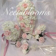 Foam Rose Artificial Wedding Flowers, Petals & Garlands