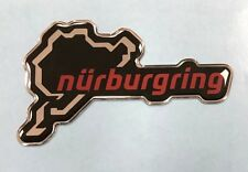 Nurburgring Circuit Sticker/Decal - 66mm HIGH GLOSS DOMED GEL FINISH