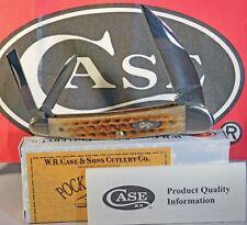 Case XX pocket worn Burnt Brown Bone Seahorse Whittler Knife/Knives ~NEW