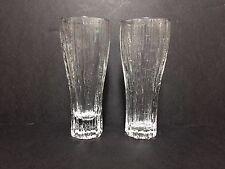 Pair of Iittala Glasses in Vellamo pattern by Valto Kokko