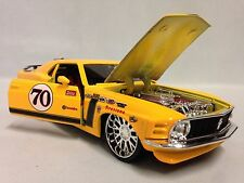 1970 Ford Mustang Boss 302 Customer Shop,Collectible Diecast 1:24, Maisto Toy,YL