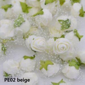 Foam Flower Artificial Rose Handmade Wedding Party Decor Scrapbooking Crafts