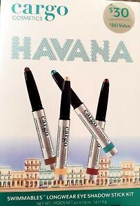 Cargo Havana Swimmables Longwear Eye Shadow Stick Kit