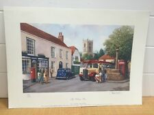 RARE Kevin Walsh PRINT SIGNED & NUMBERED LTD EDITION 150/650 The Village Bus .